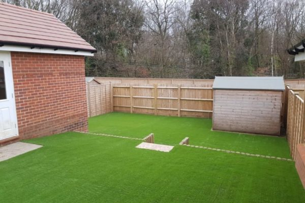 Astro turf for the back garden