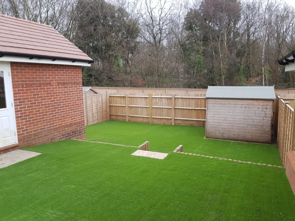 Astro turf for the back garden