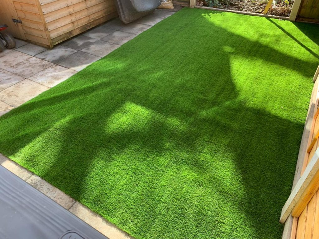 Close up of Pinehurst Artificial Grass