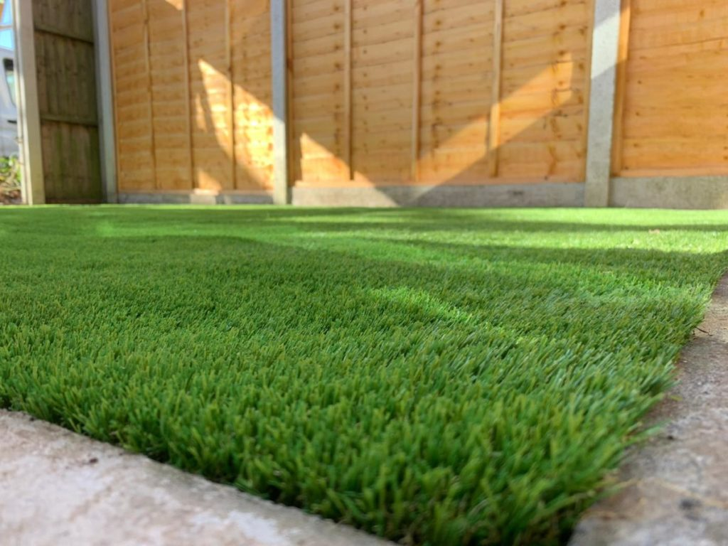 Luxury artificial grass