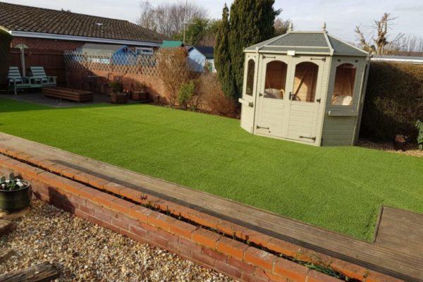 Riviera Grass in a customer's garden