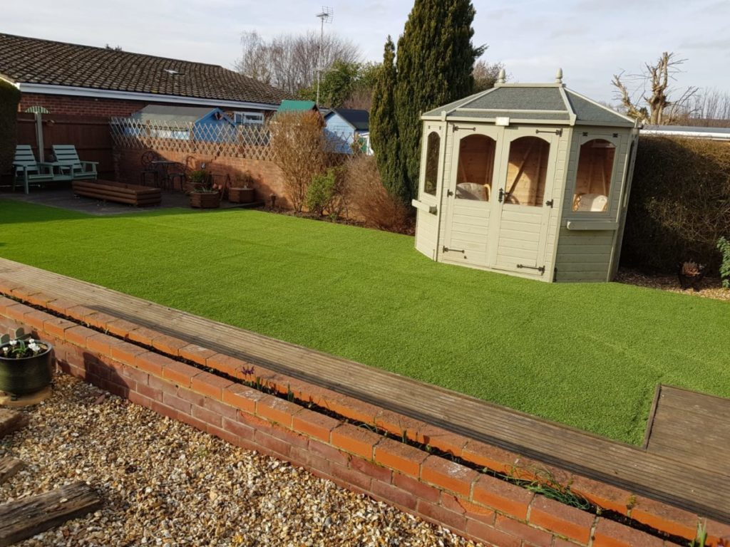 Riviera Grass in a customer's garden